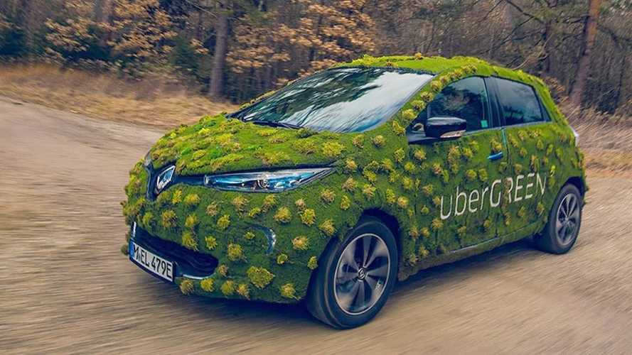 Uber anuncia meta de 100% das viagens em carros elétricos até 2040