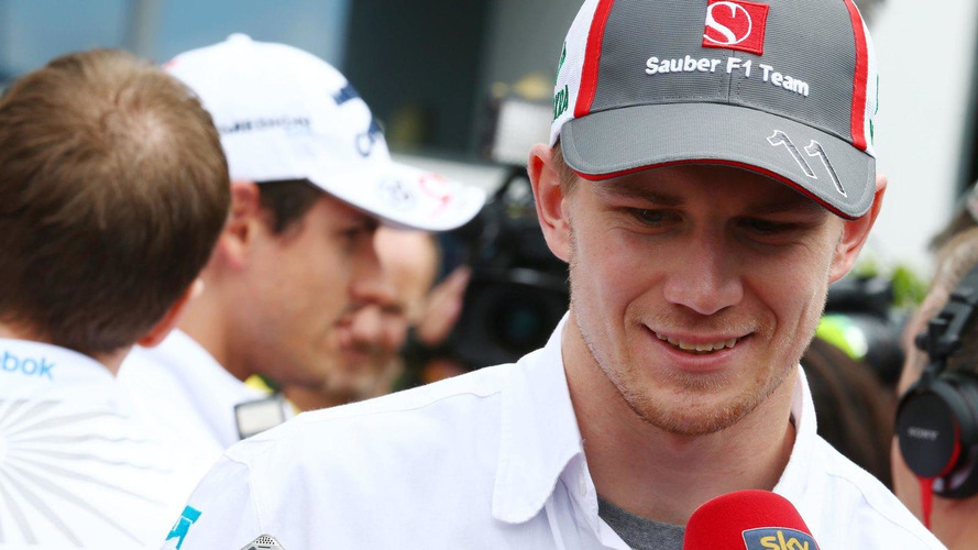 Hulkenberg admits he's on the market