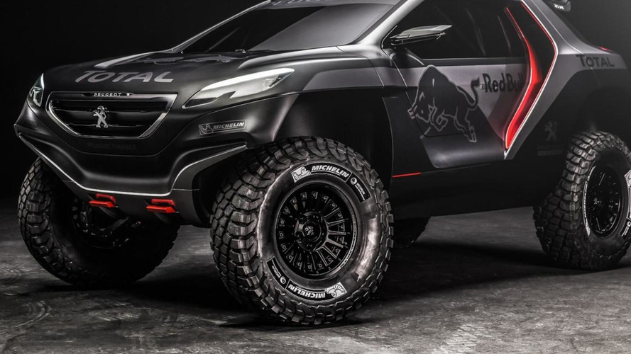 Peugeot reveals menacing 2008 DKR for 2015 Dakar Rally [video]