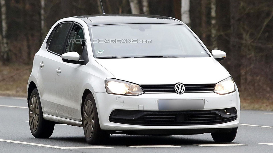 Volkswagen Polo facelift spied undisguised inside & out