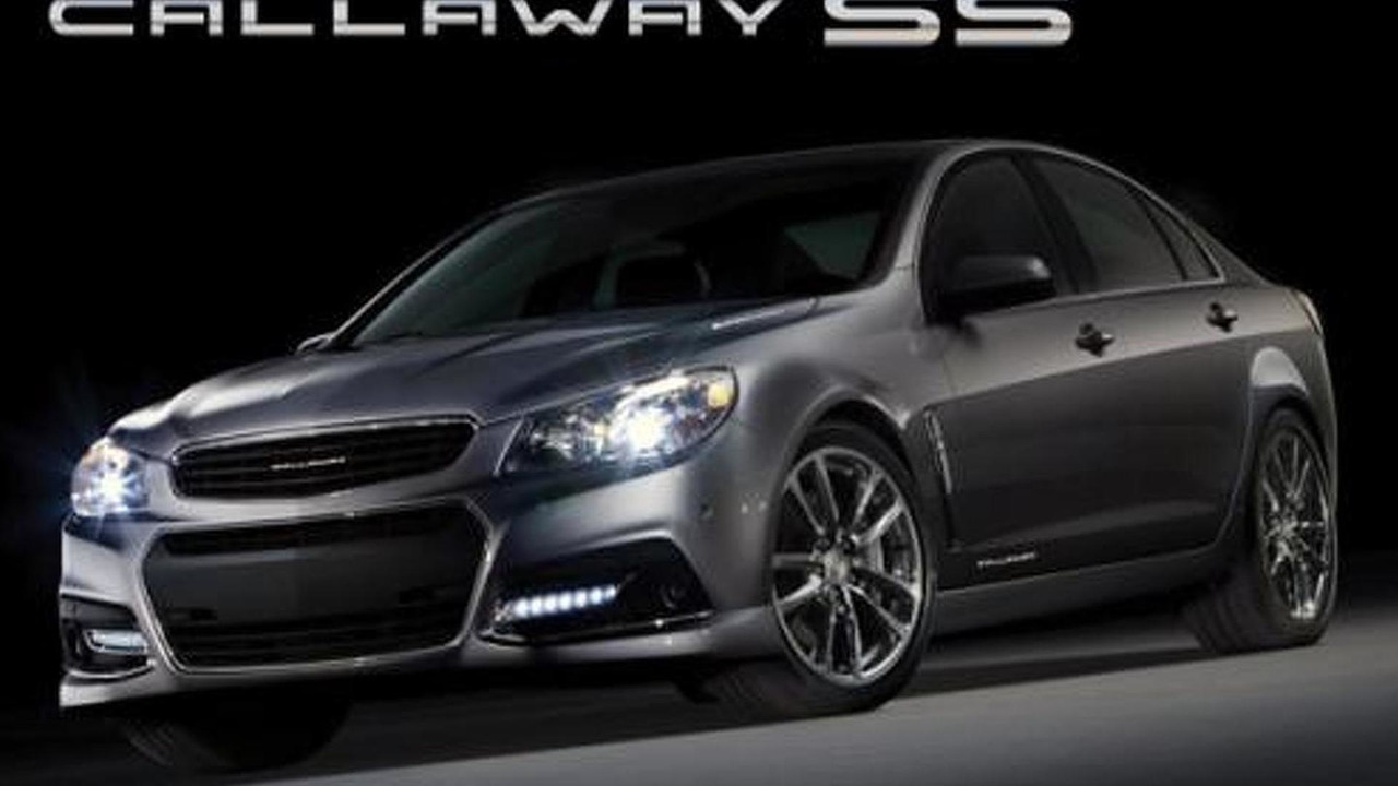 Callaway Chevrolet SS 18.11.2013
