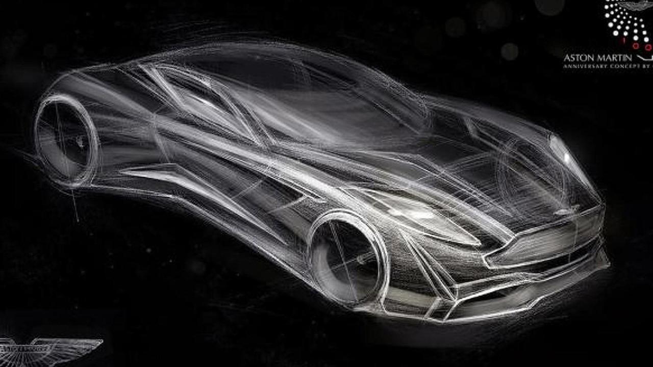 Aston Martin Vie Gh Anniversary 100 Concept Render Motor1 Com Photos