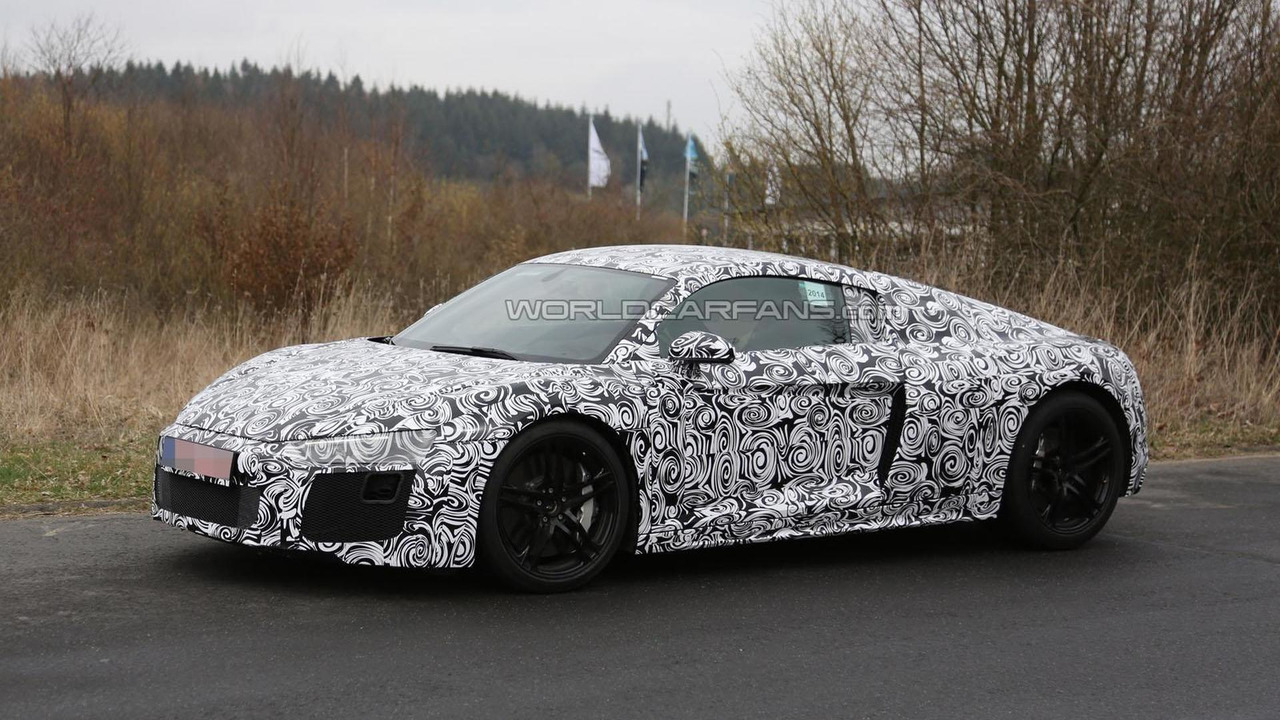 Audi R8 Rs Under Consideration With A 52 Liter V10 Engine Motor1