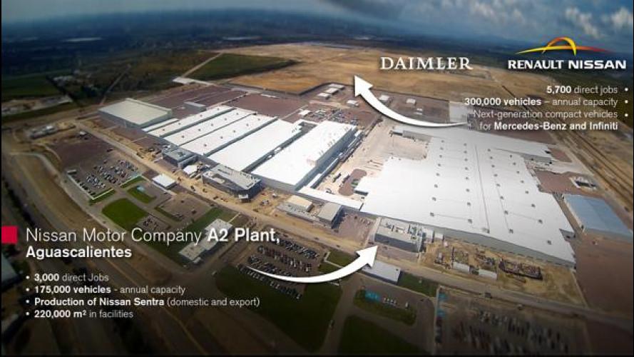 Renault-Nissan e Daimler, ora è collaborazione globale