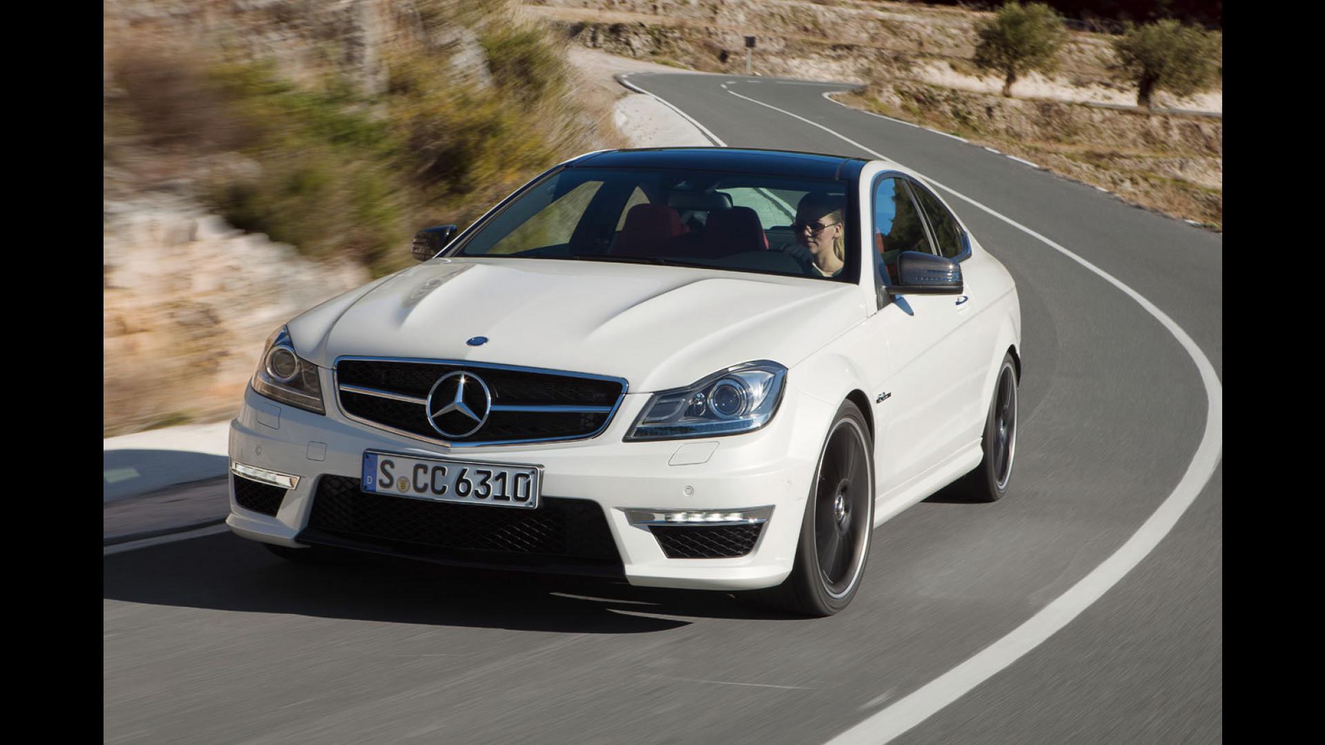 Schemi Elettrici Mercedes : Mercedes classe c coupé