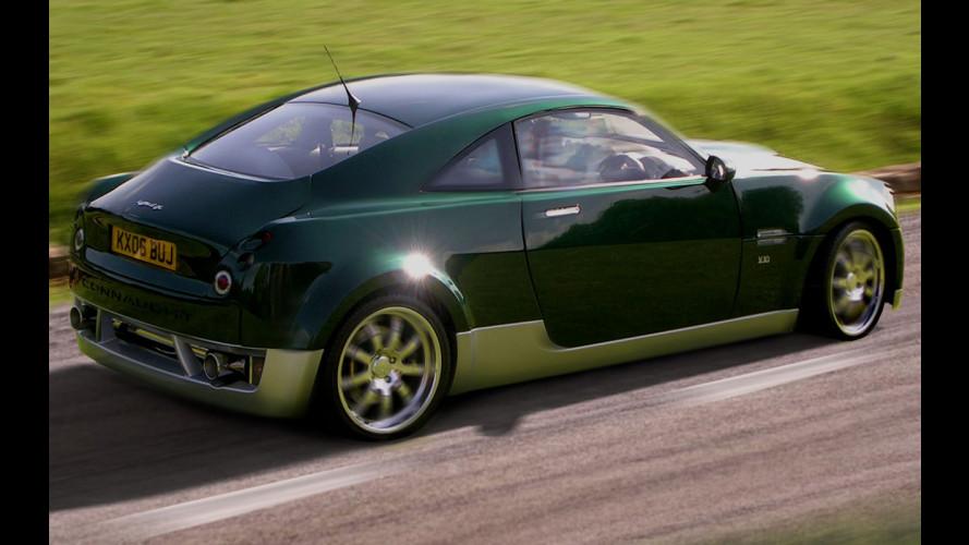Connaught Type-D H: il V10 ibrido!
