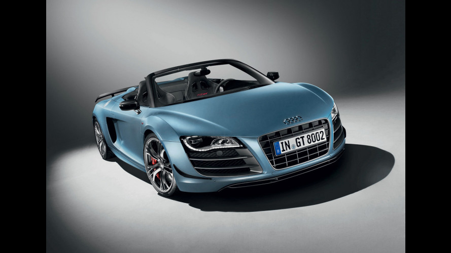 L'Audi R8 GT Spyder si mostra in video