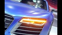 Audi R8 restyling al Salone di Mosca 2012