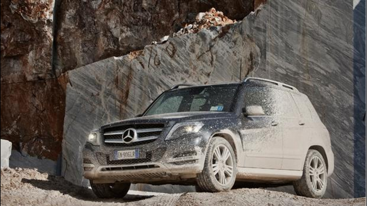 [Copertina] - Mercedes GLK 220 CDI 4 Matic Sport, 4 anime in un SUV