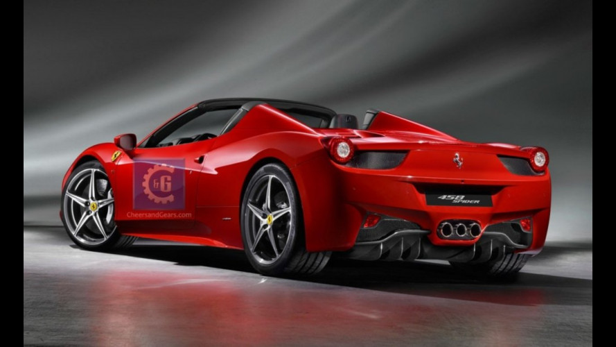 """La Ferrari 458 Spider """"svelata"""" da un forum"""