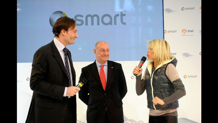 smart ED, le ultime consegne al Motor Show