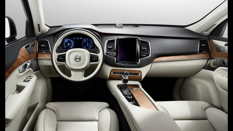 Nuova Volvo XC90, ecco gli interni