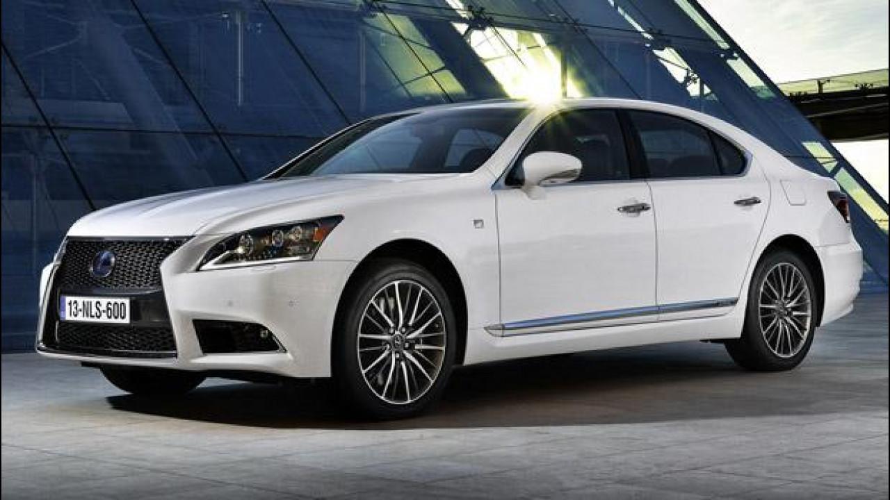 [Copertina] - Lexus LS 600h Hybrid restyling