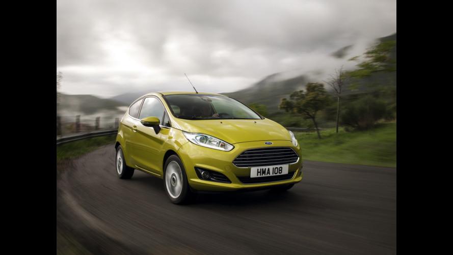 Ford Fiesta restyling: 7 motori sotto i 100 g/km di CO2