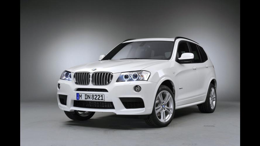 BMW X3 con pacchetto M Sports