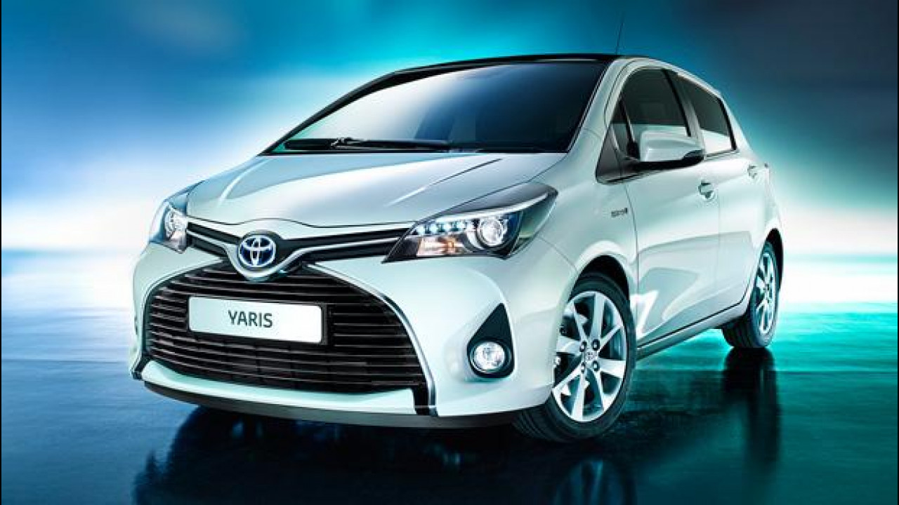 [Copertina] - Toyota Yaris restyling, quella col