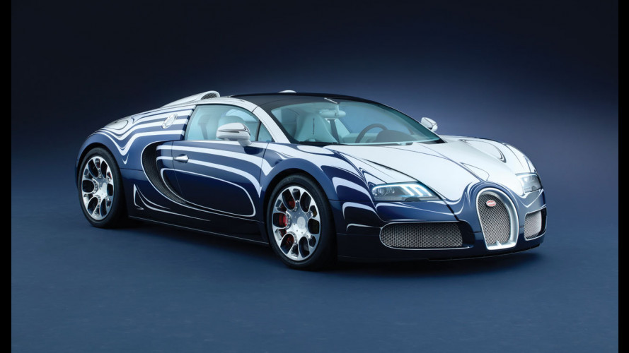 "Bugatti Veyron Grand Sport ""L'Or Blanc"""