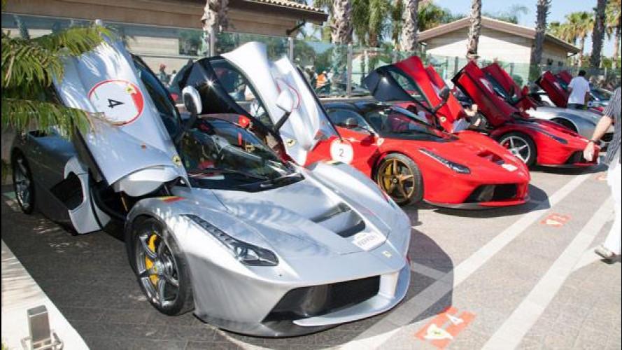 90 Ferrari scaldano la Sicilia