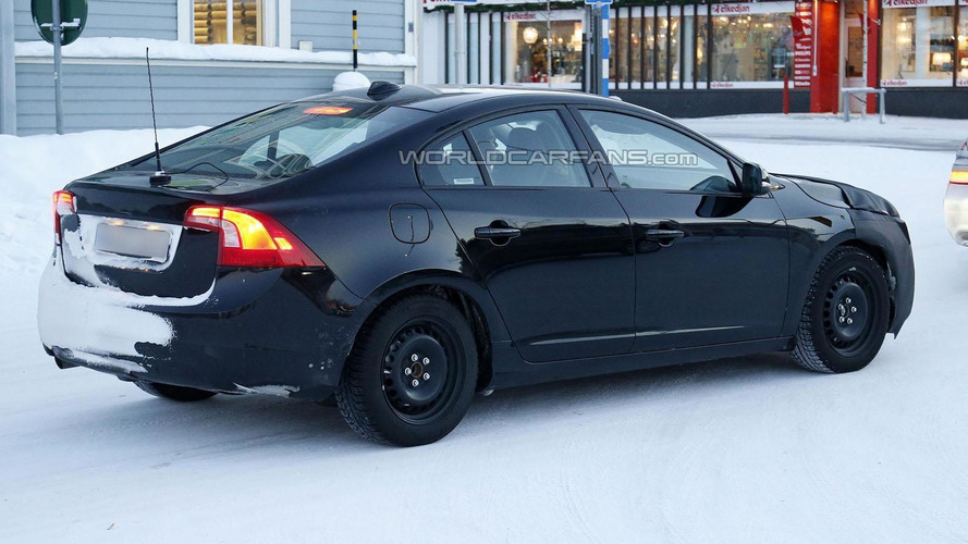 2014 Volvo S60 facelift spied in Sweden
