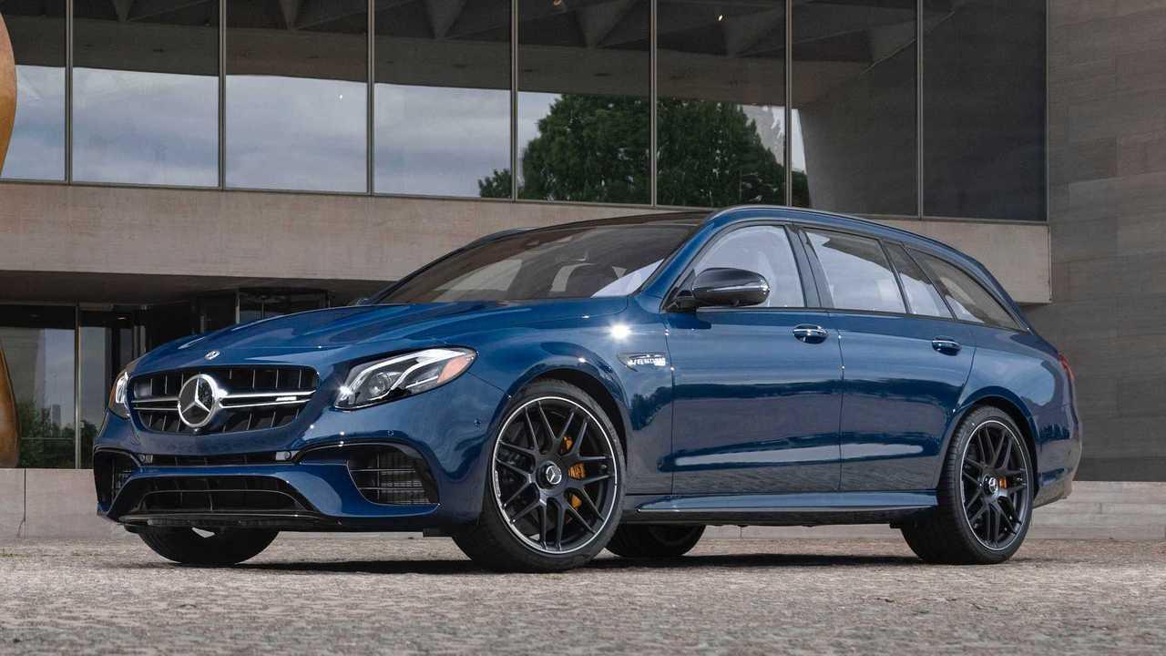 Mercedes-AMG E63 S Wagon: Designo Manufaktur Steel Blue
