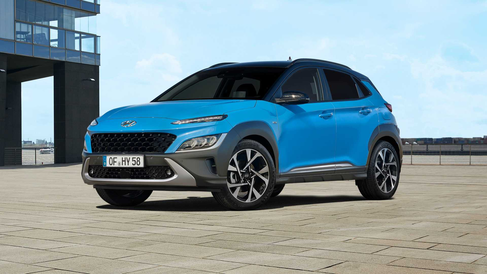 Hyundai Presents New Kona: Electric Version To Follow