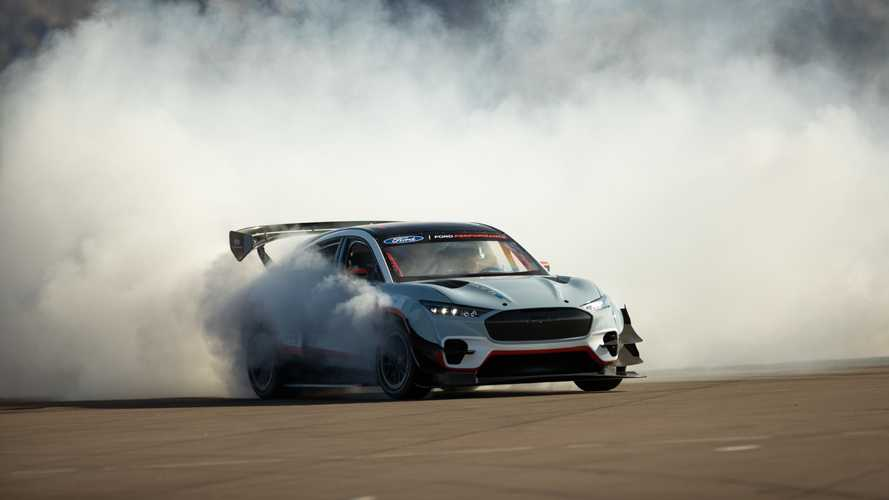 Watch Ken Block 'HOON' the Ford Mustang Mach-E 1400