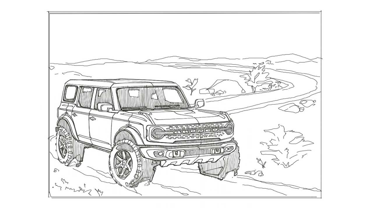 Ford Bronco and F-150 Activity Pages
