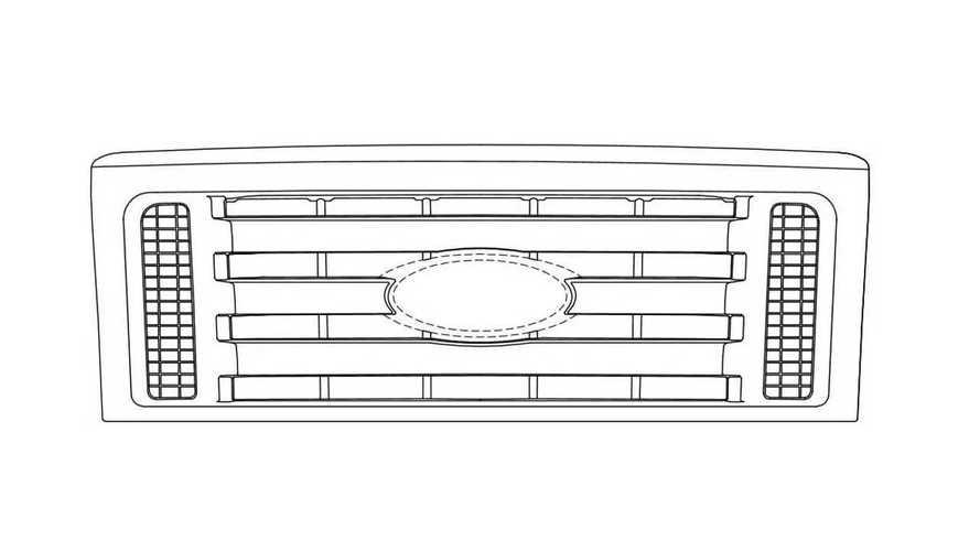 Ford'un ızgara tasarımı patentleri kafa karıştırdı