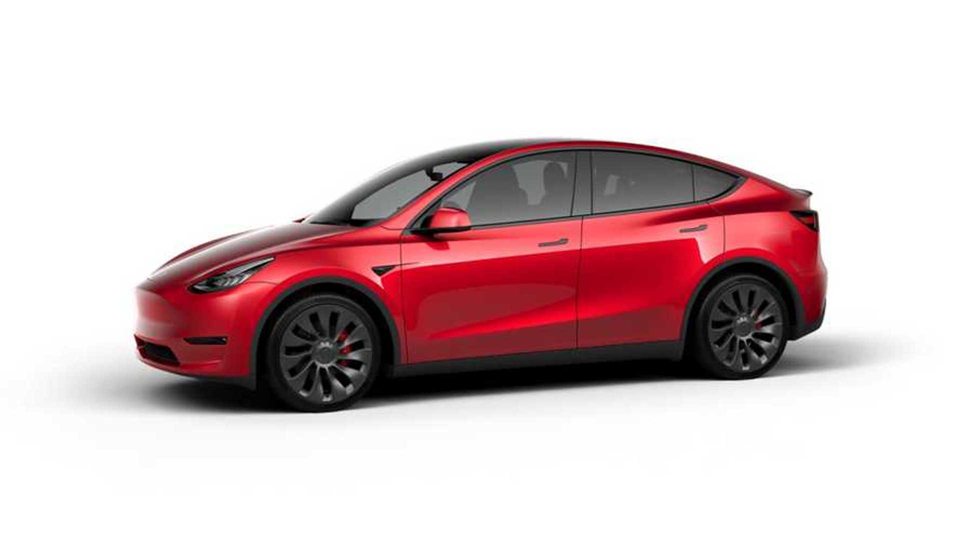 Tesla Model Y (design studio China) - LR AWD version with 21'' Überturbine Wheels