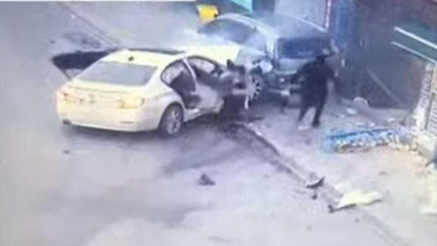 İstanbul'da makas atan sürücü dehşet saçtı