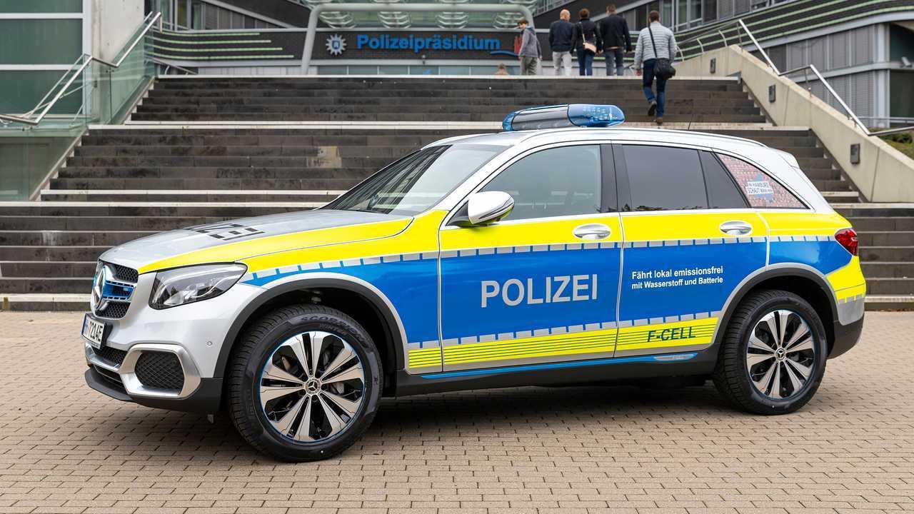 Polizeiautos in Deutschland: Mercedes GLC F-Cell