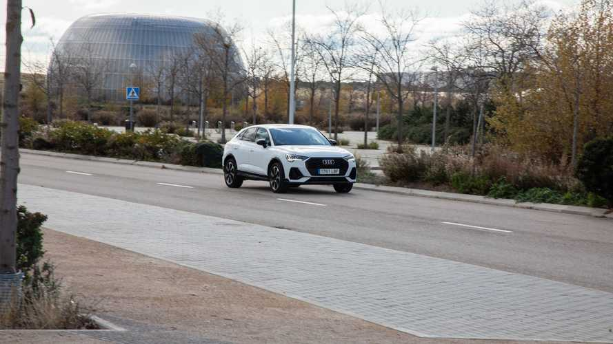 Prueba Audi Q3 Sportback Black line edition 35 TDI S tronic 2020
