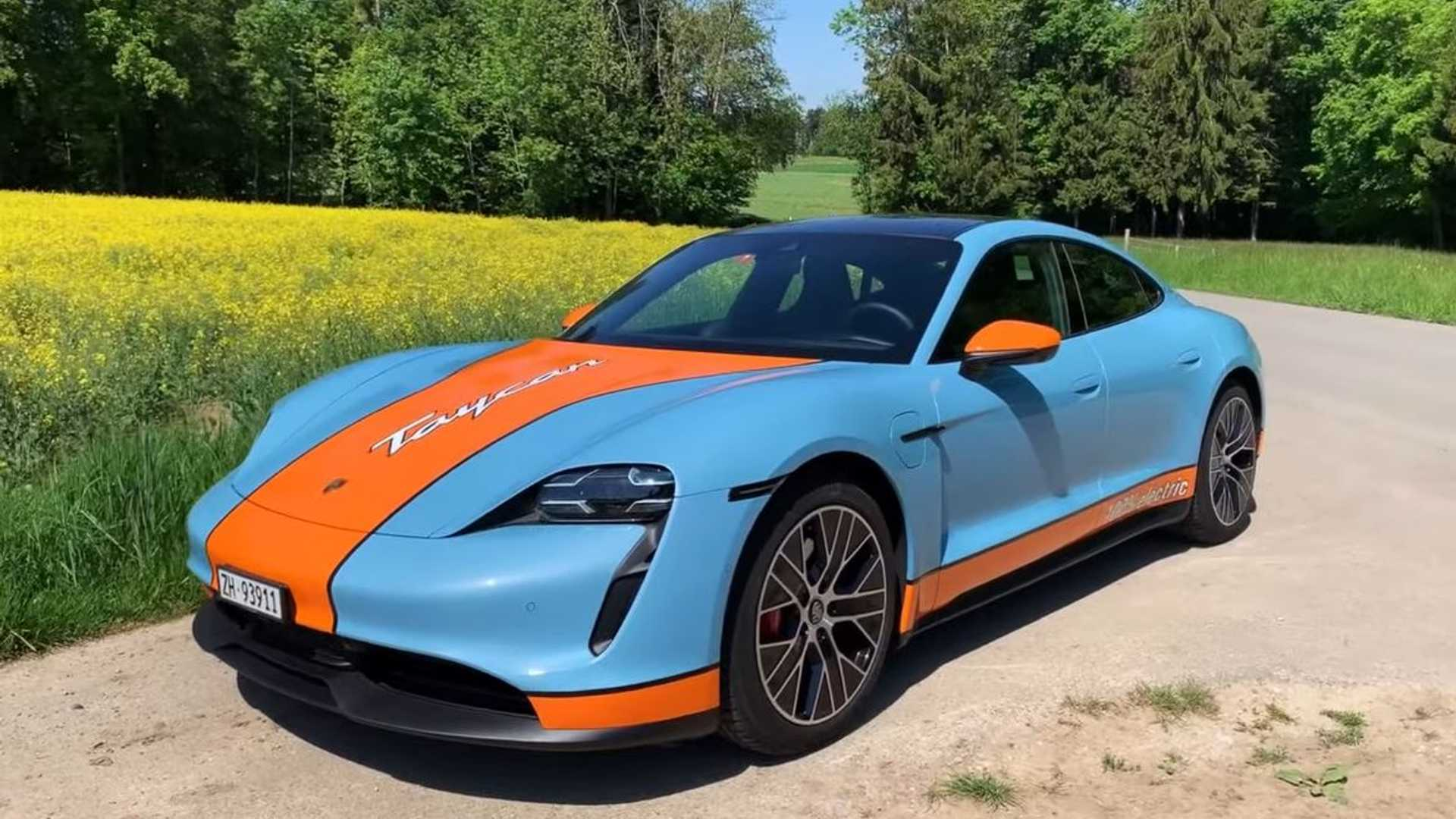 This Informative Porsche Taycan 4s Review Finds The Sweet Spot