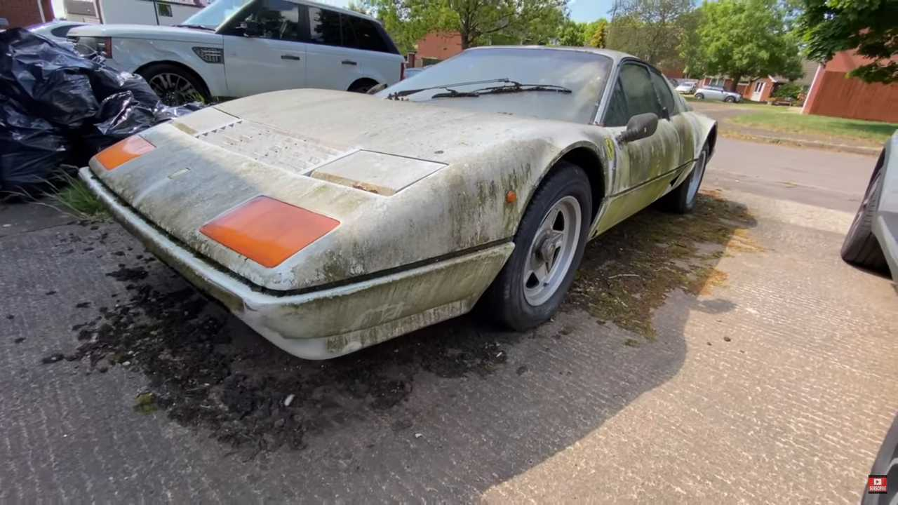 Extremely Rare Ferrari 512 Bbi Barn Find Will Make You Cry