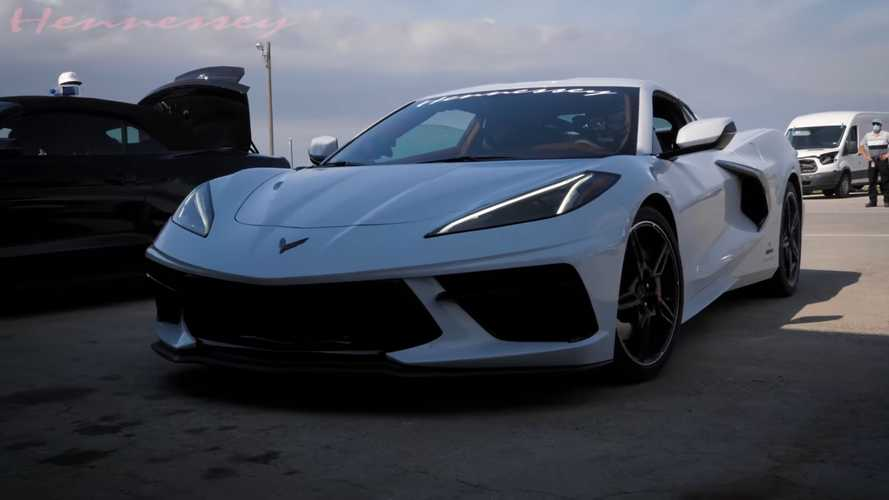 See 2020 Chevy Corvette With Nitrous Go Beyond 200 MPH