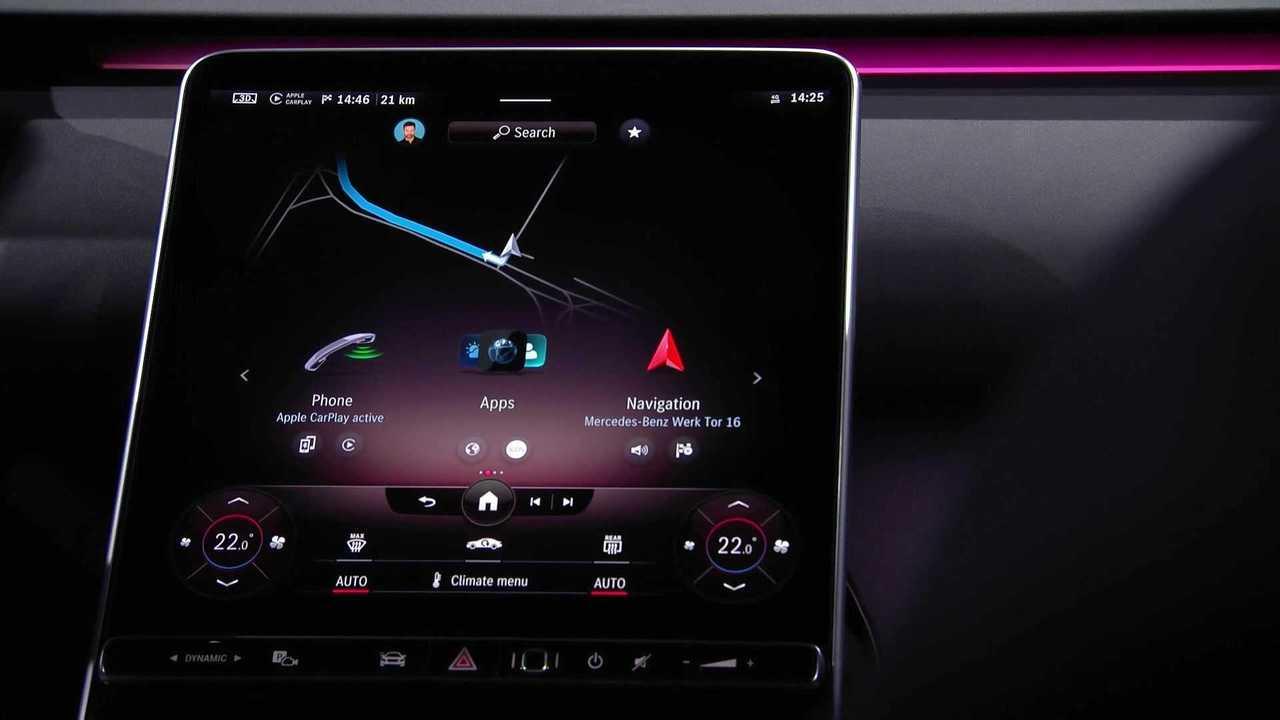 2020 Mercedes S-Serisi Kabin Görüntüleri
