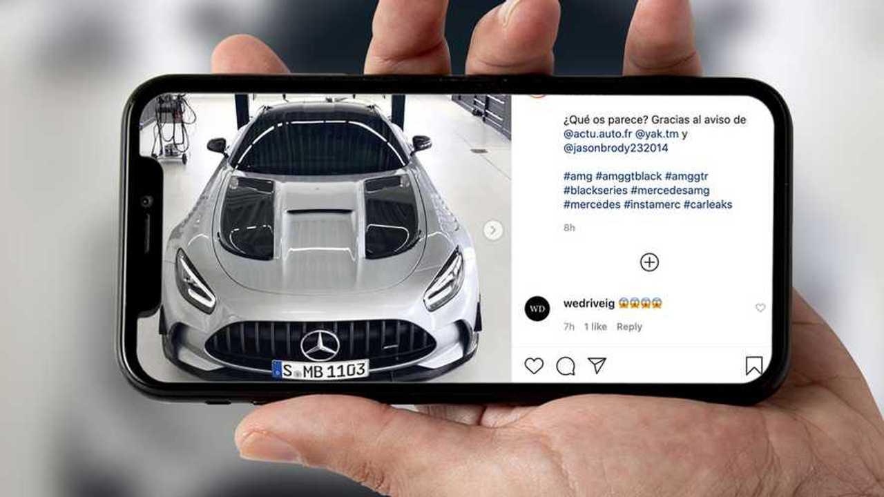 Mercedes-AMG GT Black Series Leak