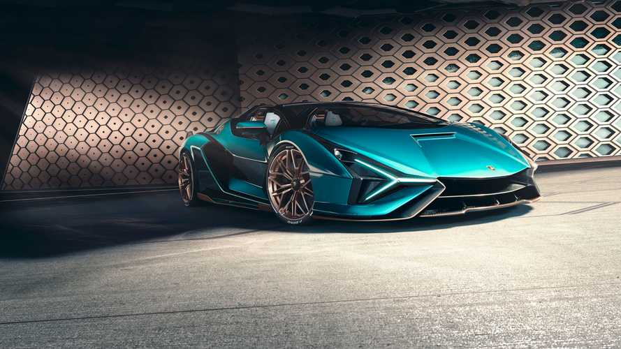 Lamborghini Sian Roadster (2020)