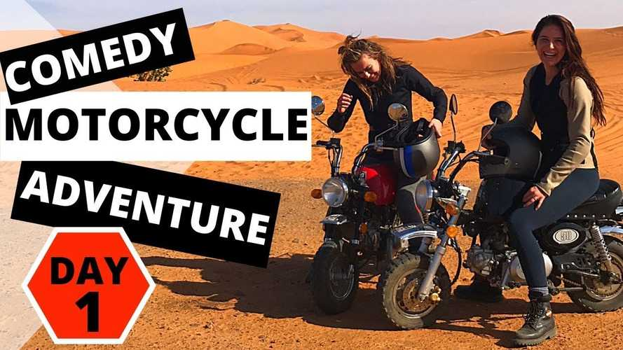Meet The Monkey Bike Mafia: Two Noobs Who Crossed Morocco On Honda Z50s