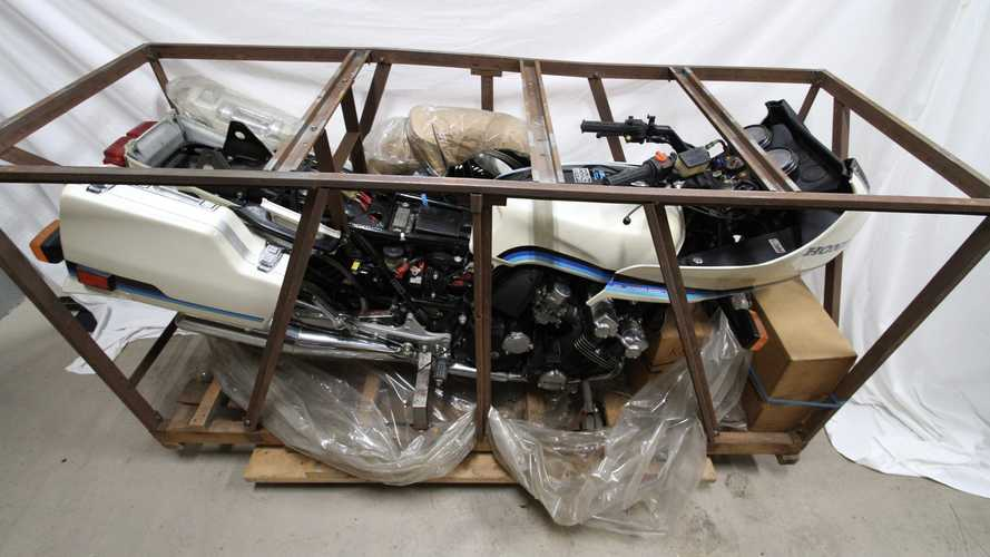 This Gorgeous 1982 Honda CBX Comes In Its Own Box