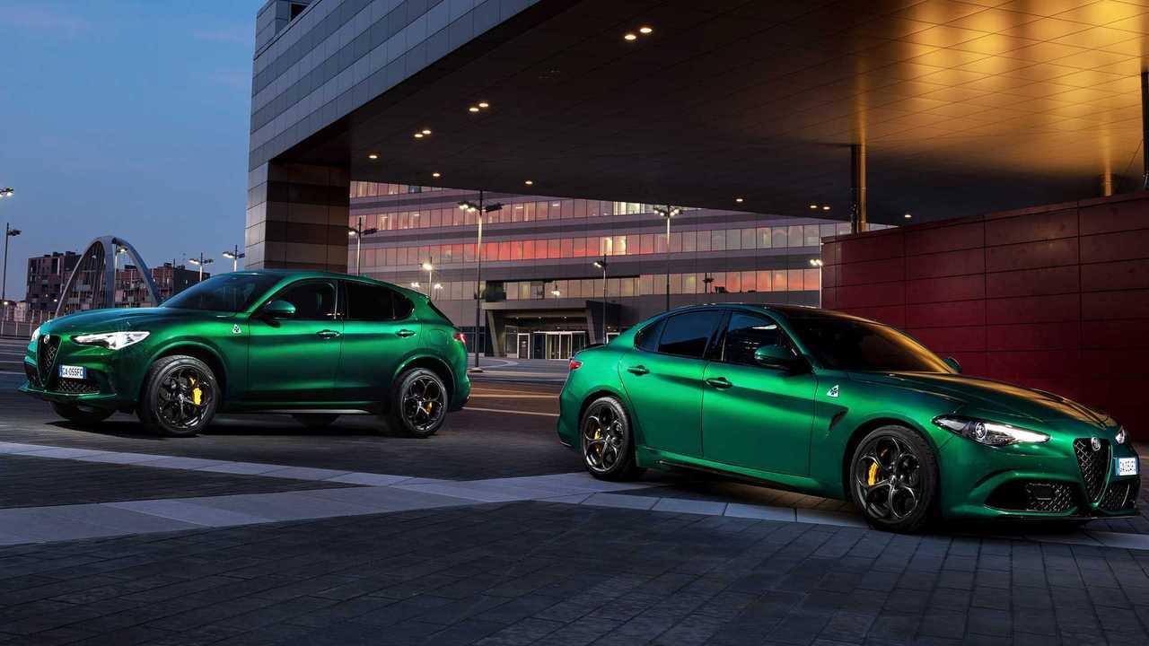 2020 Alfa Romeo Giulia Quadrifoglio and Stelvio Quadrifoglio (Euro Spec)