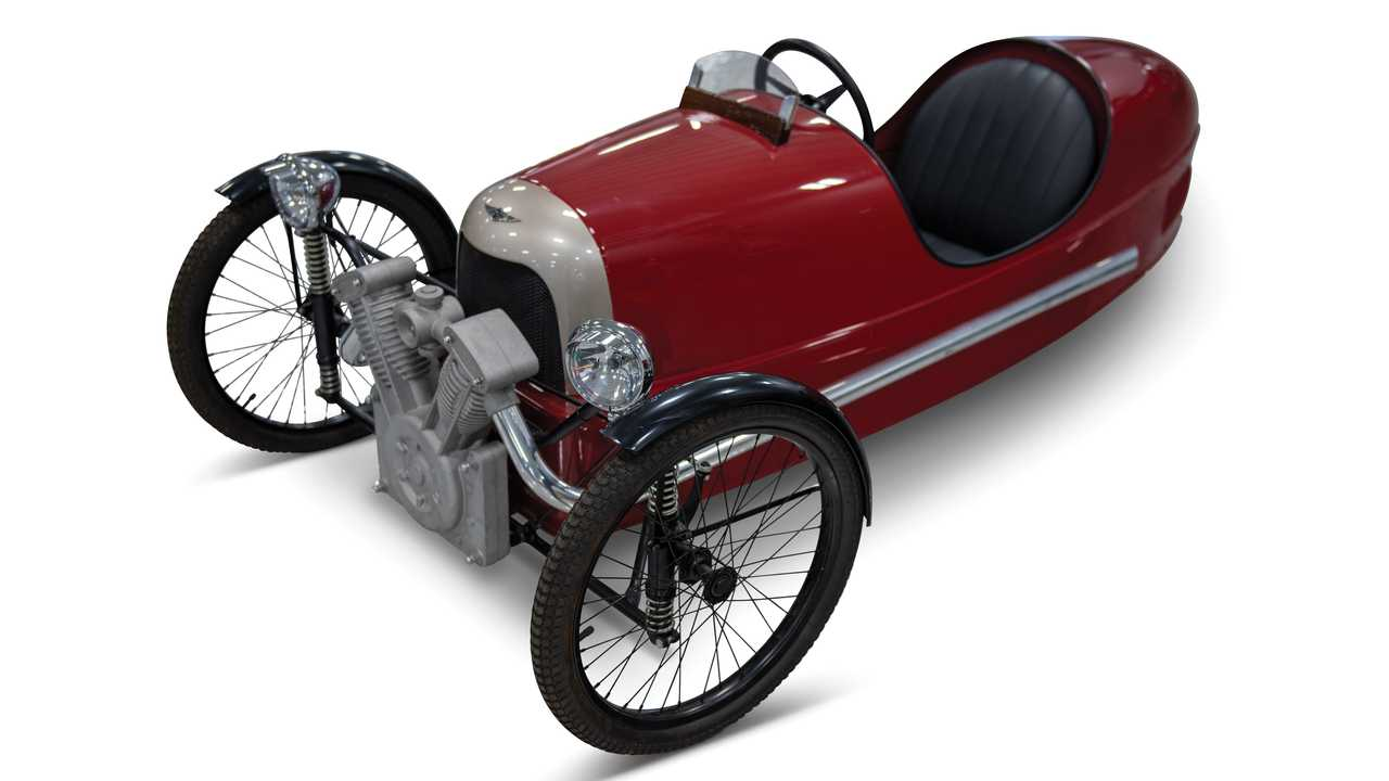 Morgan Three Wheeler Pedal Car
