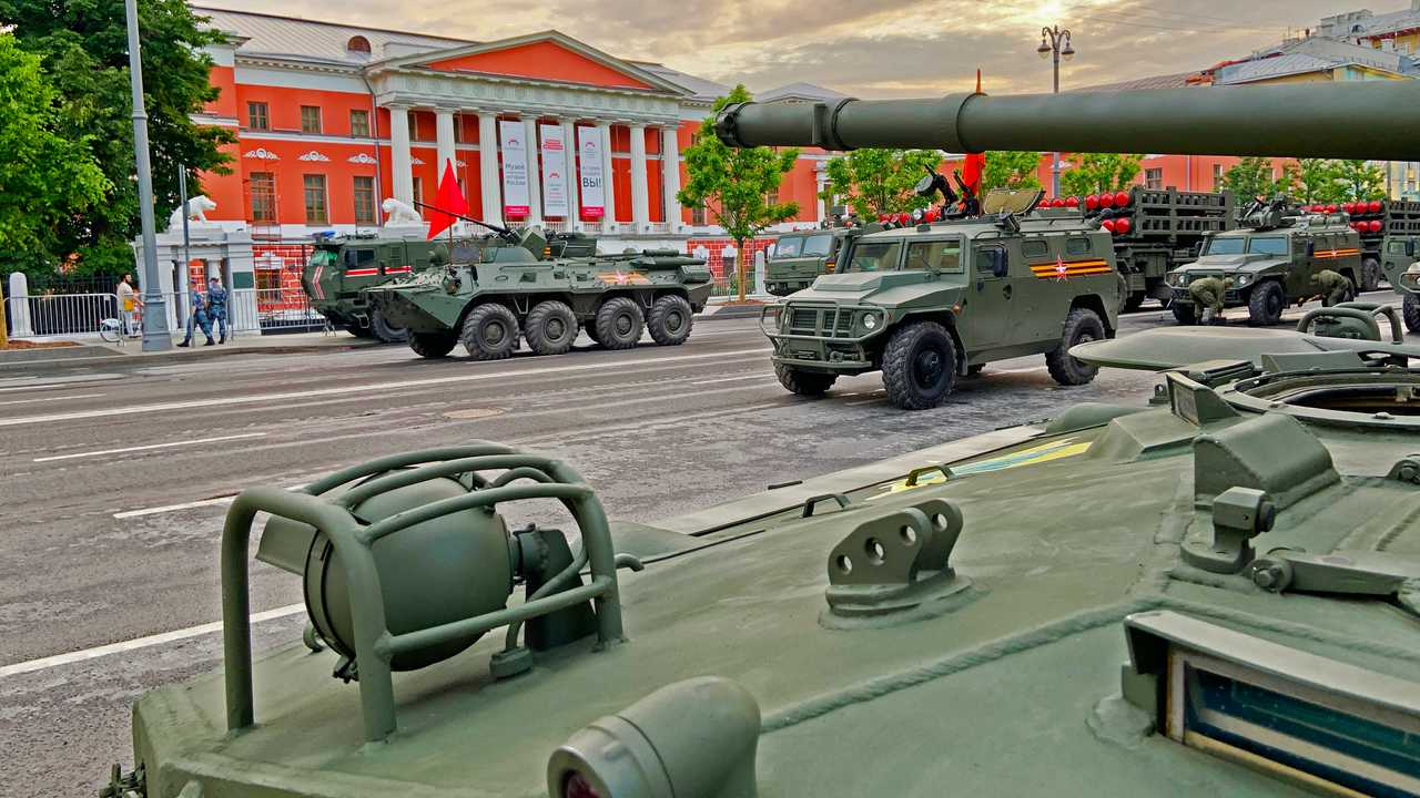Victory Day 75th Anniversary military parade in Moscow 2020