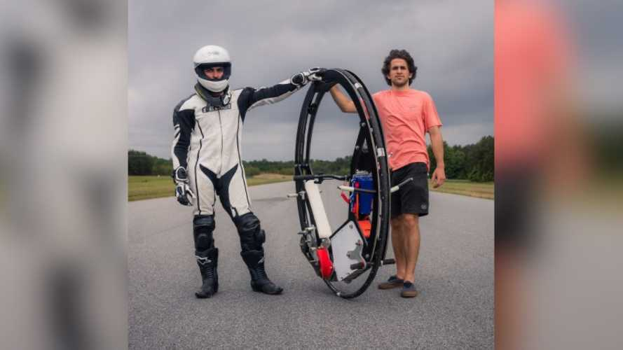 Would You Ride The World's Fastest Monocycle?