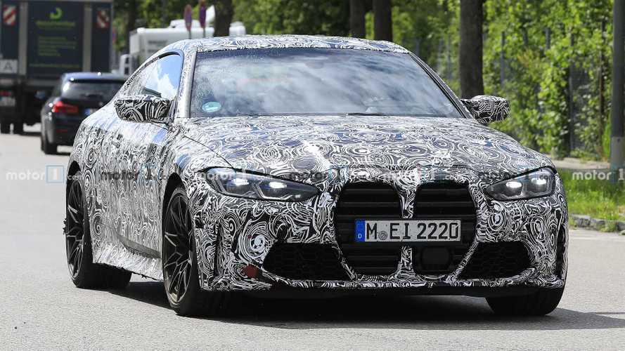 2020 BMW M4, devasa ızgarası ile test sürüşünde