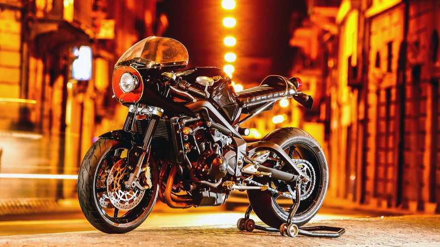 Jerolamo SR: Mr Martini Custom Triumph Street Triple R