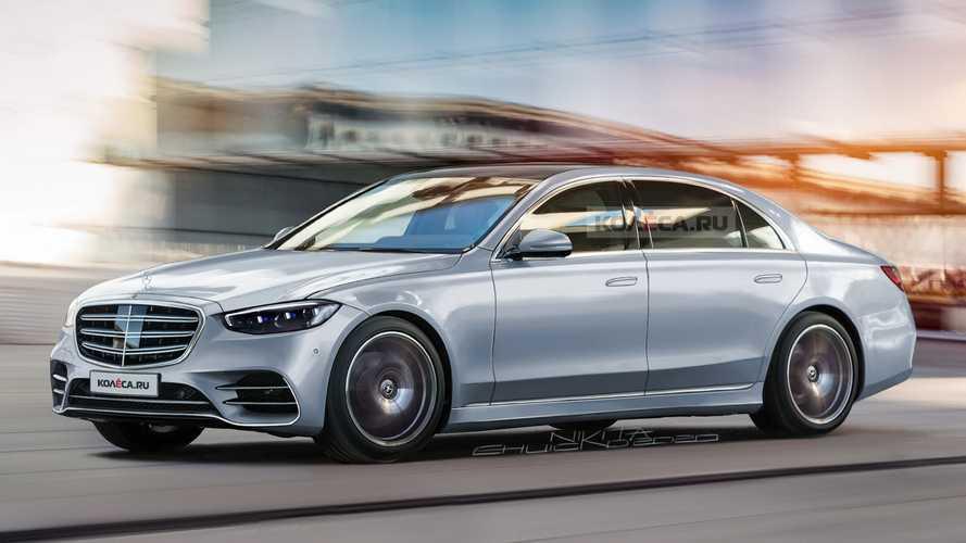 Mercedes S-Klasse (2021): Realistisches Rendering nach neuesten Erlkönigbildern