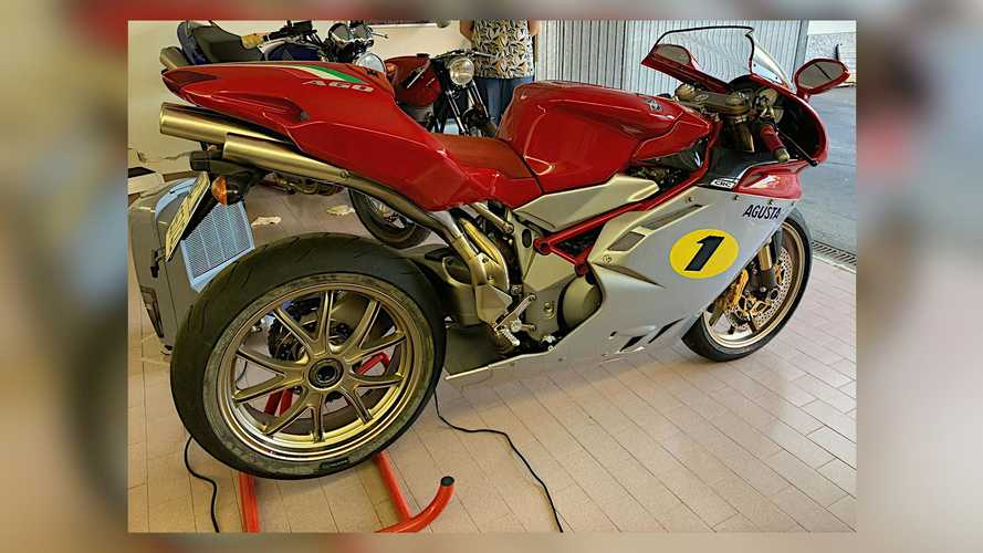 Rare MV Agusta F4 Ago For Sale, But There's An Agostini Twist