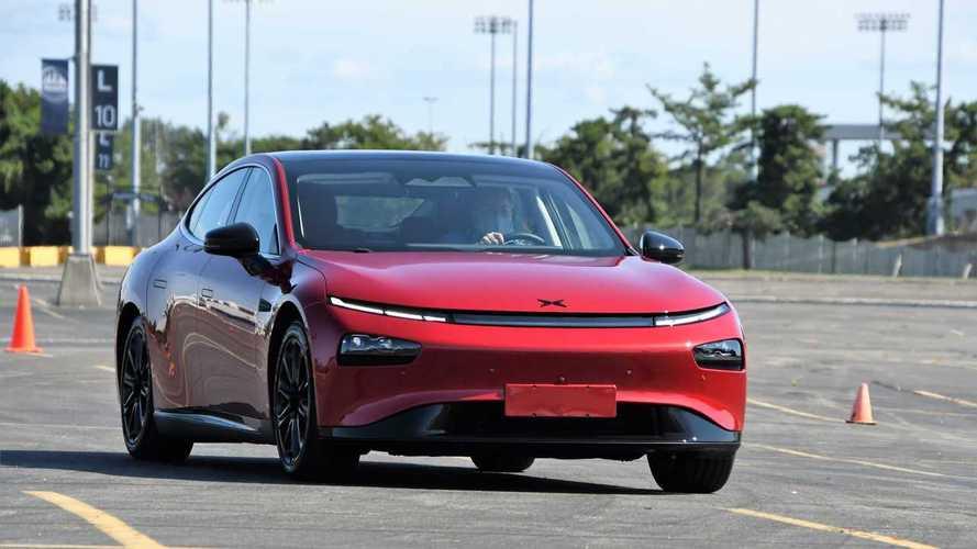 Первый тест китайского конкурента Tesla Model 3 – седана Xpeng P7
