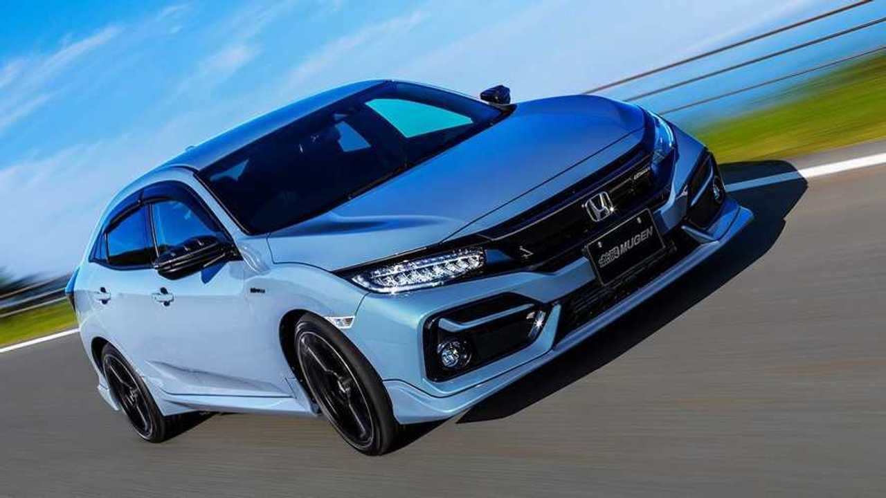 Honda Civic Mugen alkatrészekkel